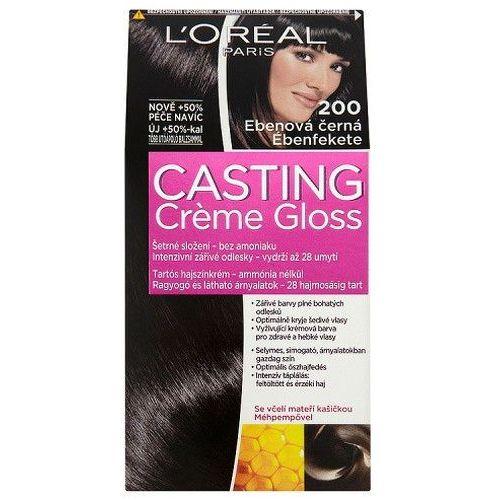 L'oréal paris casting creme gloss farba do włosów odcień 200 ebony black (3600521334720)