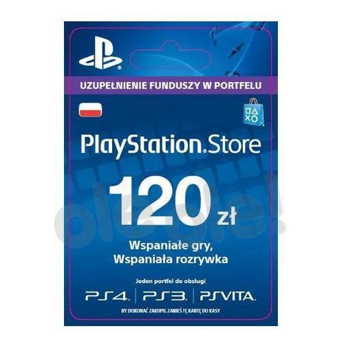 Sony PlayStation Network 120 zł [kod aktywacyjny] - produkt z kategorii- Kody i karty pre-paid
