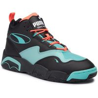 Sneakersy PUMA - Source Mid Buzzer 370598 01 P Blk/Nrgy Red/Blue Turquoise, kolor niebieski