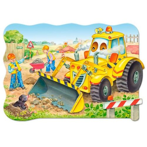 Rayo Puzzle maxi konturowe: bulldozer in action 20