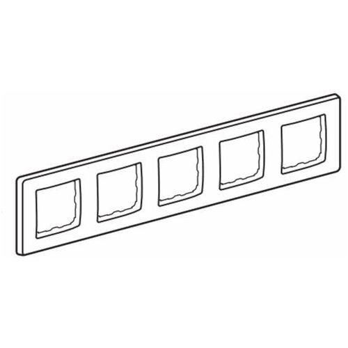CARIVA Ramka pięciokrotna kremowa 773755 LEGRAND (3245067737552)