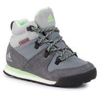Adidas Buty - cw snowpitch k g26576 grethr/grefou/glogrn