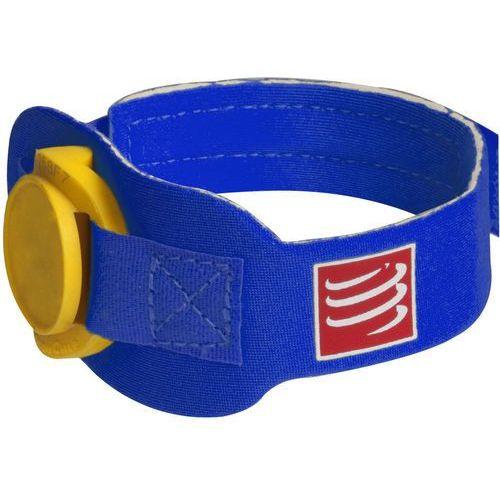 Compressport Timing Chipband niebieski 2017 Pasy do biegania
