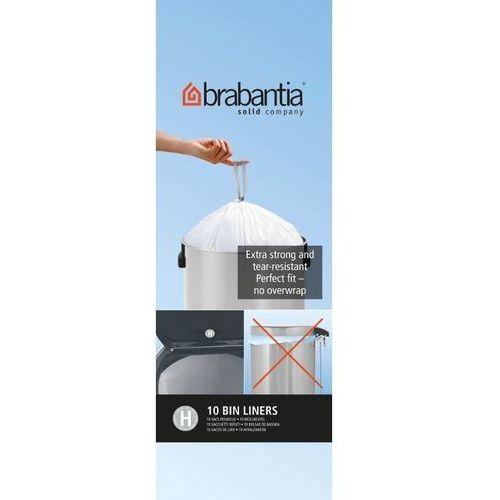Brabantia - worki na śmieci - rozmiar h – 50l - 10 szt