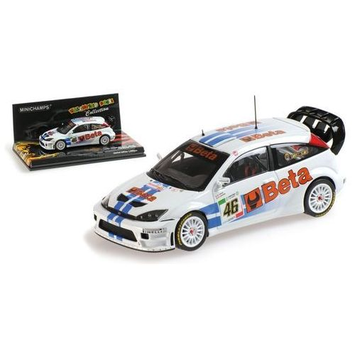 ford focus rs wrc beta #46 marki Minichamps