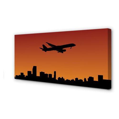 Obrazy na płótnie samolot zachód słońca i niebo marki Tulup.pl