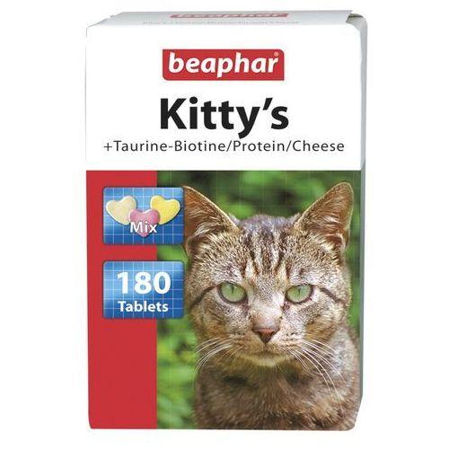 Kitty's mix 180szt. - mix tabletek witaminowych taur.-biot/proteiny/ser dla kotów marki Beaphar