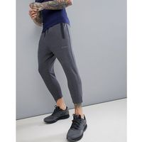 skinny tapered training joggers in cropped length - grey, Asos 4505, XS-XL