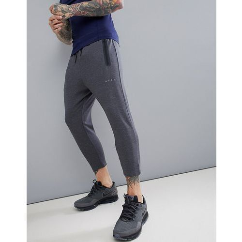 ASOS 4505 skinny tapered training joggers in cropped length - Grey, kolor szary