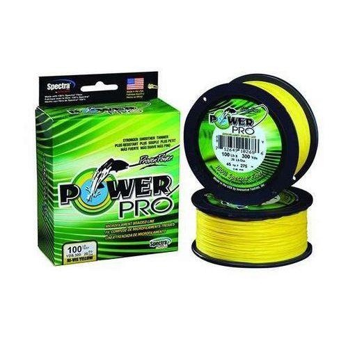 Power pro 135m 0,15mm 9kg/20lb hi-vis yellow marki Shimano