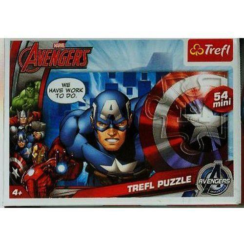 Puzzle 54 mini drużyna avengers 4 marki Trefl