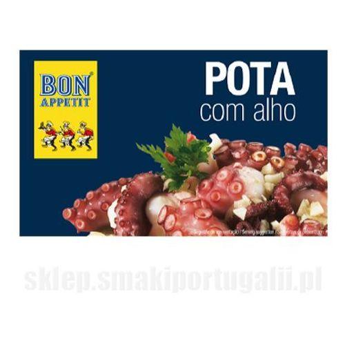 Portugalska kałamarnica humboldta w oleju z czosnkiem 120g Bon Appetit (przetwór rybny)