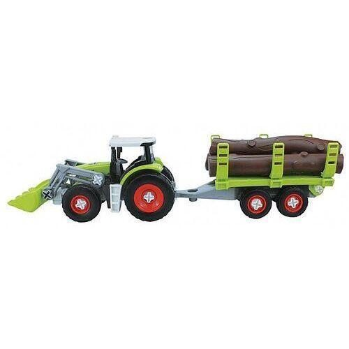 Pojazd traktor do skręcania w pudełku marki Dromader