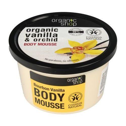 Organic Vanilla & Orchid Body Mousse mus do ciała burbońska wanilia i orchidea 250ml, OS31