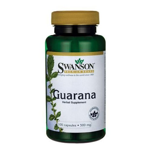 Swanson Guarana 500mg - 100 kaps.