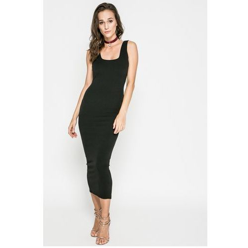Missguided - Sukienka, kolor black