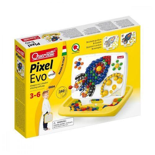 Quercetti Mozaika pixel evo palette small 160 elementów (8007905009345)