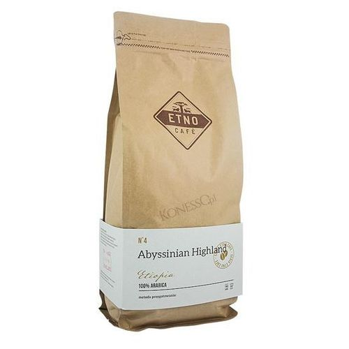 Kawa ziarnista Etno Cafe Abyssinian Highland 1kg (kawa)