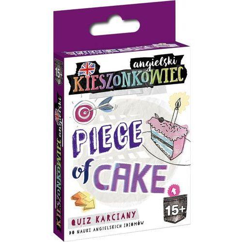 Edgard Kieszonkowiec angielski: piece of cake - (9788377888735)