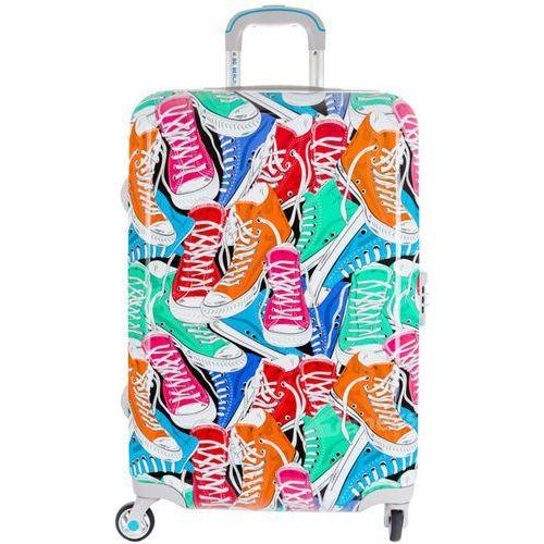 Bg berlin urbe duża walizka na 4 kółkach / 78 cm / oldschool - wielokolorowy