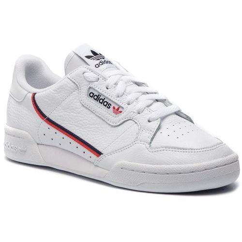 Adidas Buty - continental 80 g27706 ftwwht/scarle/conavy