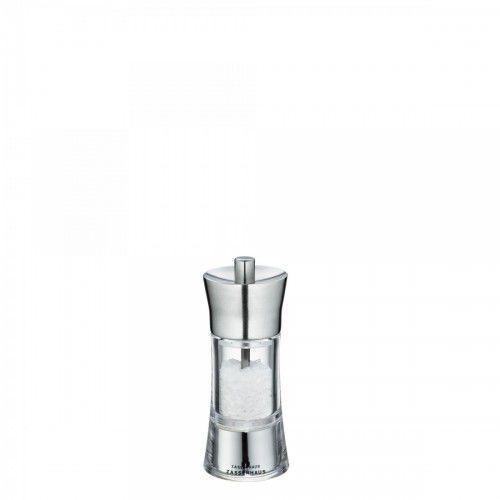 Zassenhaus młynek do soli, śred. 5,8x14 cm, stalowo-akrylowy, ZS-035292 (10960927)