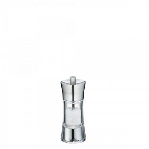 Zassenhaus młynek do soli, śred. 5,8x14 cm, stalowo-akrylowy