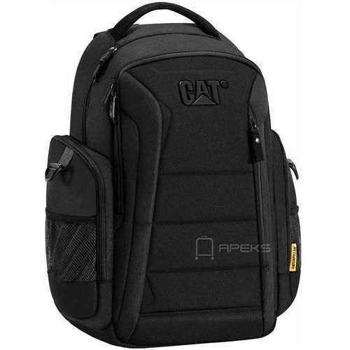 bradley ii plecak na laptop 15,6'' cat / black - black marki Caterpillar