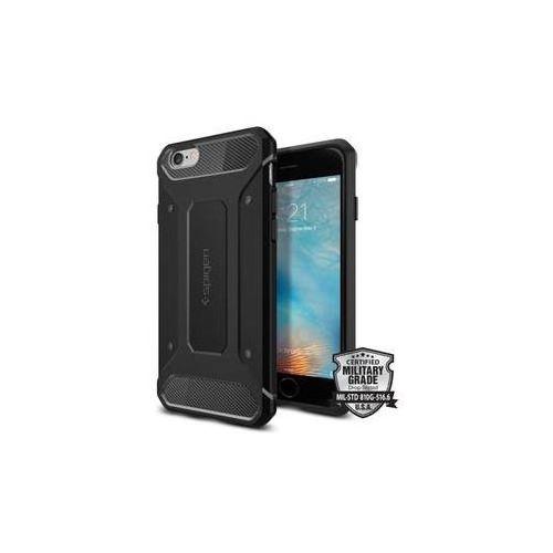 Obudowa dla telefonów komórkowych Spigen Rugged Armor Apple iPhone 6/6s (SGP11597) Czarny, kolor czarny