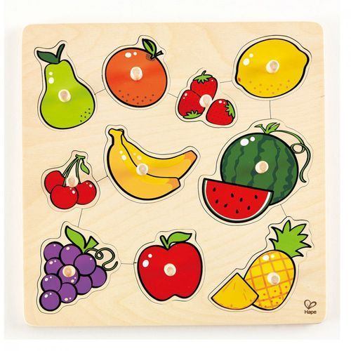 Hape Owoce puzzle