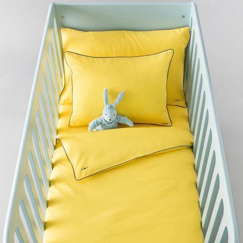 R baby Poszwa na kołderkę dziecięcą z gładkiej bawełny.