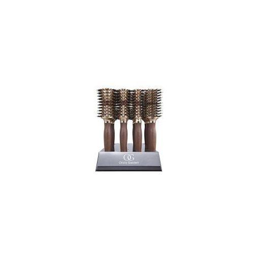 Olivia Garden Nano Contour Vent, zestaw 16 szczotek, display