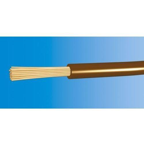 Kable i przewody wyprodukowane w ue Przewód lgy 16mm2 450/750v h07v-k brązowy