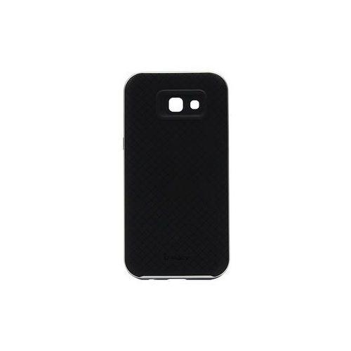 Ipaky Samsung galaxy a3 (2017) - etui na telefon - srebrny