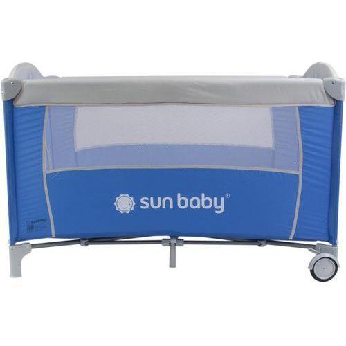 Łóżeczko jednopoziomowe sweet dreams niebieskie sd707/ns marki Sun baby