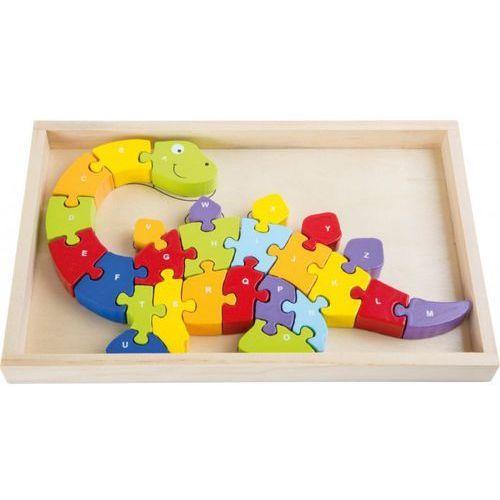 Legler Puzzle dino abc