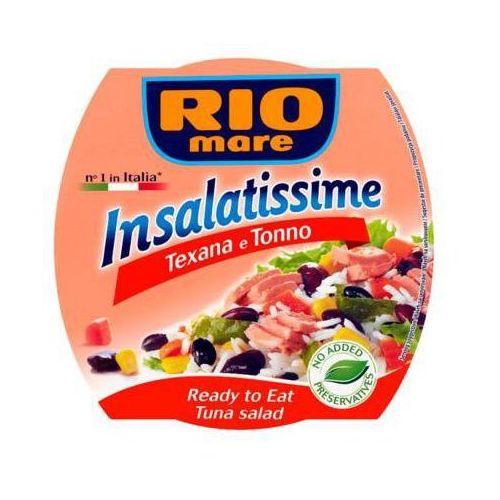 Rio mare 160g insalatissime texana e tonno gotowe danie z warzyw i tuńczyka