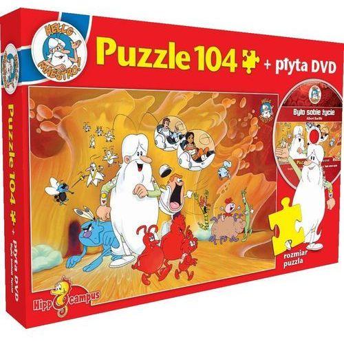 Hippocampus Było sobie życie - bohaterowie - puzzle+dvd (5908259811949)