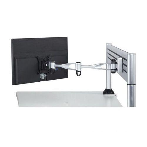 Uchwyt na monitor dwuramienny, obrotowy, montaż na nośniku, 1x monitor marki B2b partner
