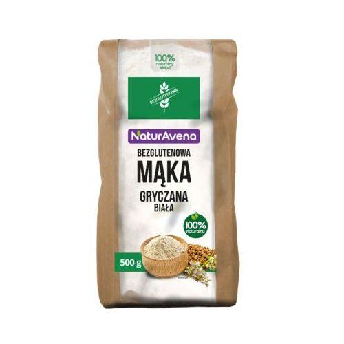 NATURAVENA 500g Mąka gryczana Biała Bezglutenowa