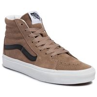 Vans Sneakersy - sk8-hi vn0a4bv6xke1 (suede) portabella/tr wht