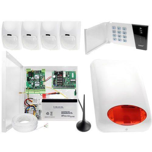 Satel set System alarmowy do domu sklepu firmy z powiadomieniem gsm satel ropam