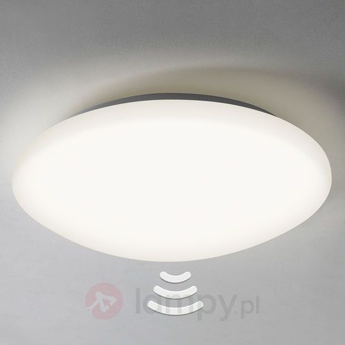 Massa 350 LED Ceiling light with sensor, kolor biały