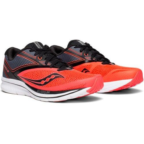 saucony Kinvara 9 Buty do biegania Mężczyźni czerwony/czarny US 11,5 | 46 2018 Szosowe buty do biegania (0884547983275)