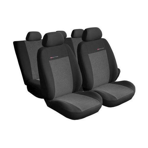 Pokrowce samochodowe miarowe ELEGANCE POPIEL 2 Audi A4 B6 sedan/kombi 00-04