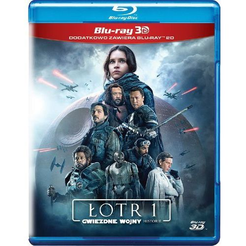 Łotr 1. gwiezdne wojny – historie 3d (blu-ray) - gareth edwards marki Galapagos. Najniższe ceny, najlepsze promocje w sklepach, opinie.