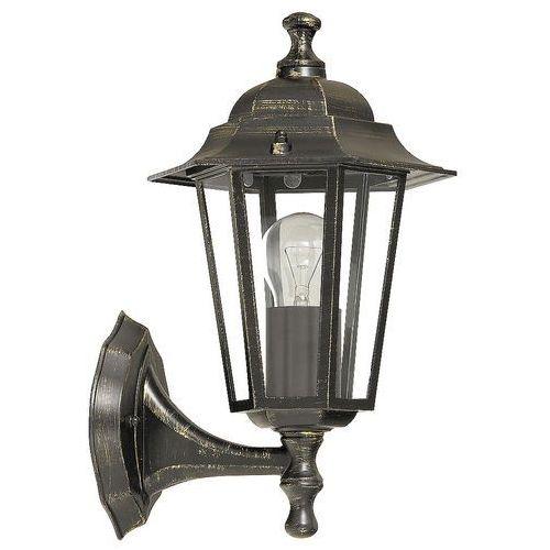 Kinkiet lampa oprawa ścienna zewnętrzna Rabalux Velence 1x60W E27 antyczne złoto 8234