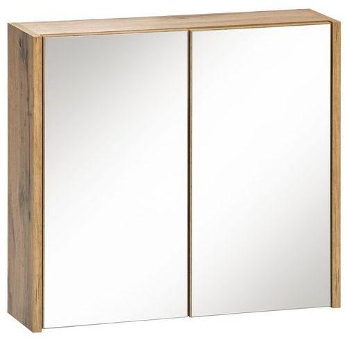 Comad Szafka z lustrem ibiza dąb/biały 840