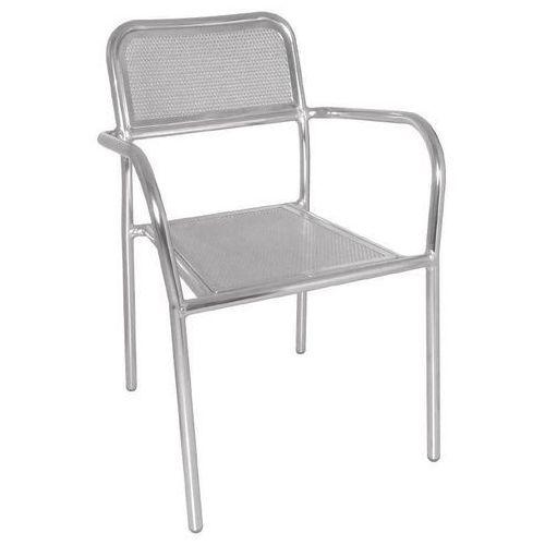 Krzesła sztaplowane | 4 szt. | 53x57x(h)80cm marki Bolero