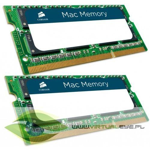 Corsair pamięć ddr3 sodimm 16gb/1600 (2*8gb) apple qualified
